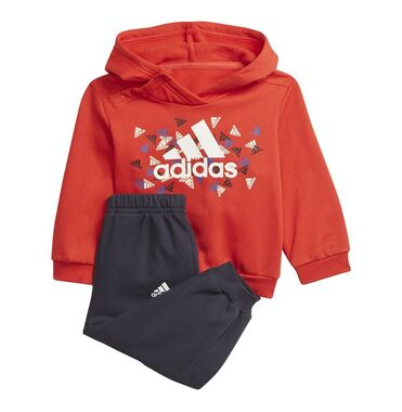 Chándal adidas Badge of Sport Graphic Baby Red/White image