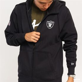 Chaqueta New Era NFL Team NO FZ Hoody Raiders image