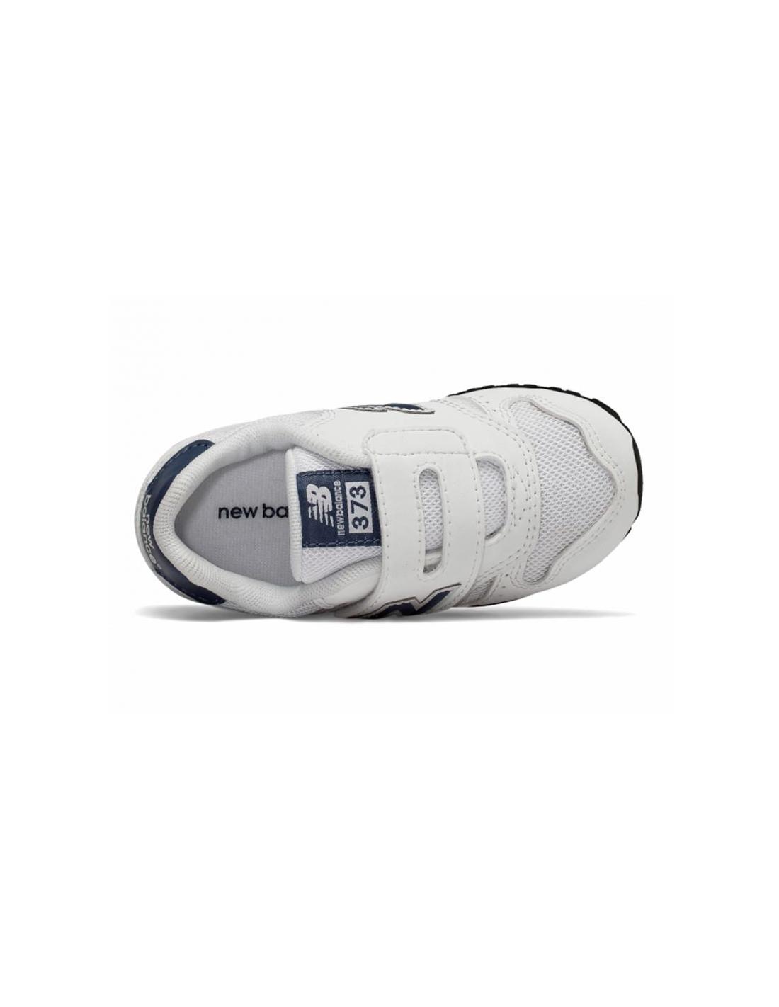 new balance zapatillas niño velcro blancas