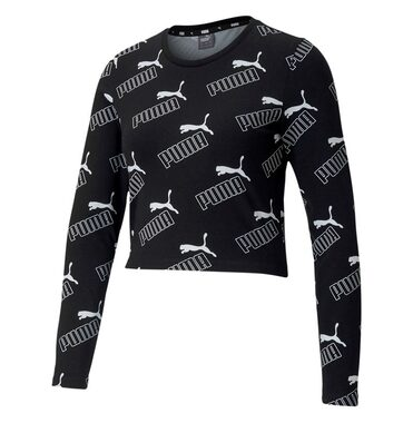 Camiseta Sportswear Puma Amplified AOP LS Fitted Tee image