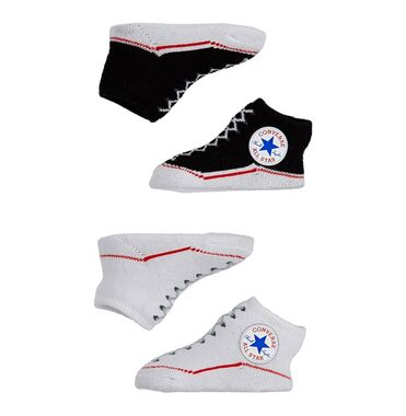 Pack 2 Calcetines Sportswear Converse Chuck White Black image