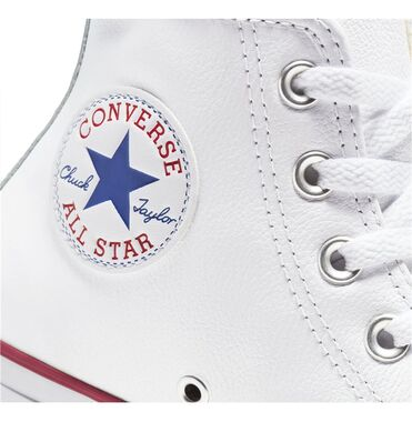 Zapatillas Converse Chuck Taylor All Star Leather High Top White image